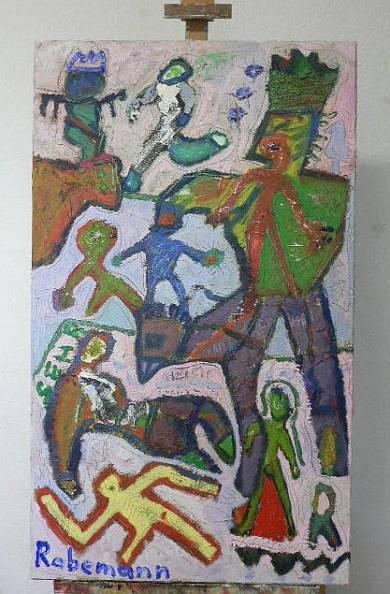 "Galerie Rabemann Böblingen: ""Hic Rhodus"""